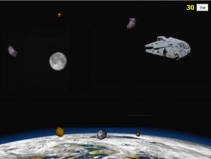 Aszteroida játék