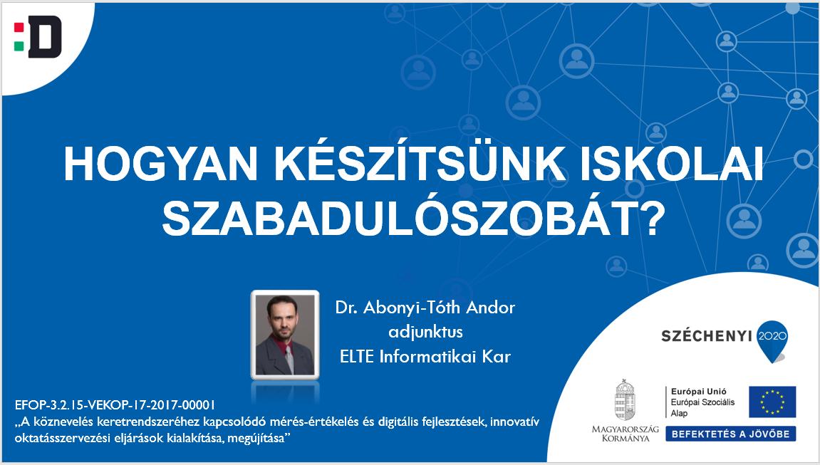Dr. Abonyi-Tóth Andor honlapja
