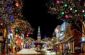 Karácsonyi utcakép